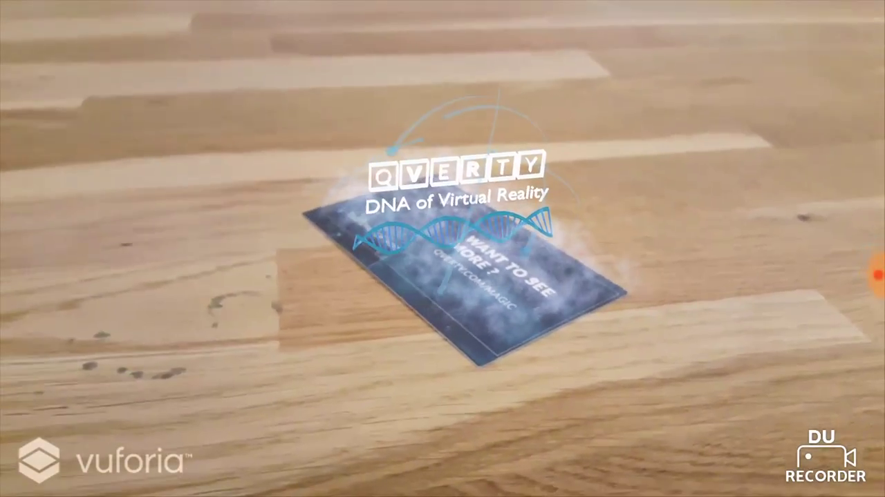 AR Business Card - Qverty - Augmented and Virtual Reality. Business ...