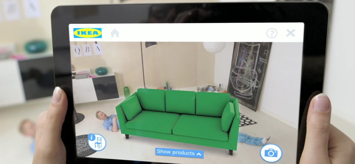 IKEA furniture augmented reality