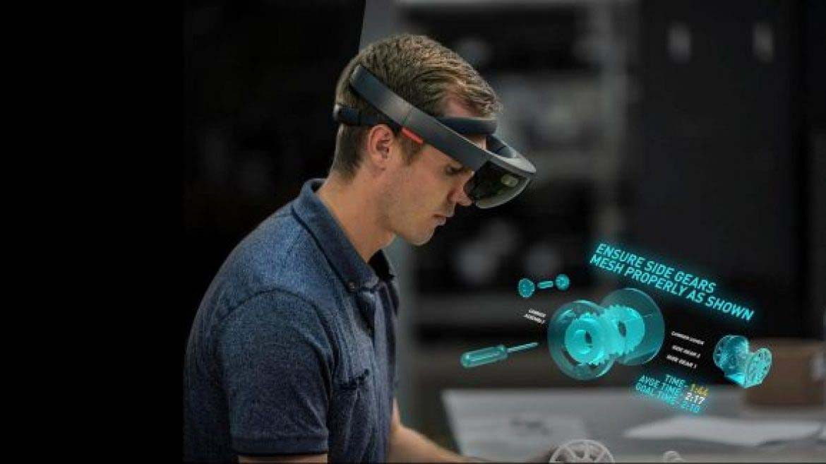AG augmented reality worker help