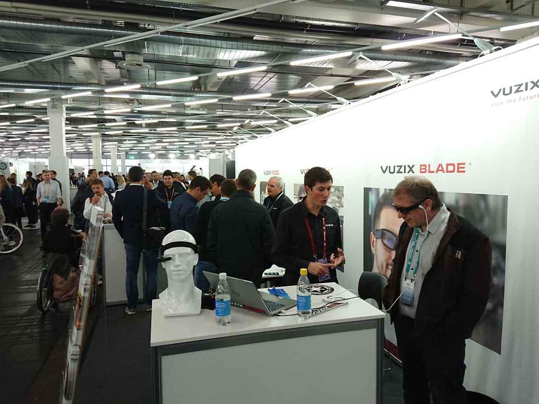 AWE EU 2018 conference Expo Vuzix VR