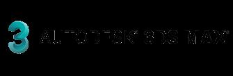 3D MAX label transparent logo