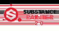 Substance Painter label transparent logo