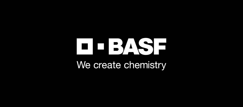 BASF logo black label