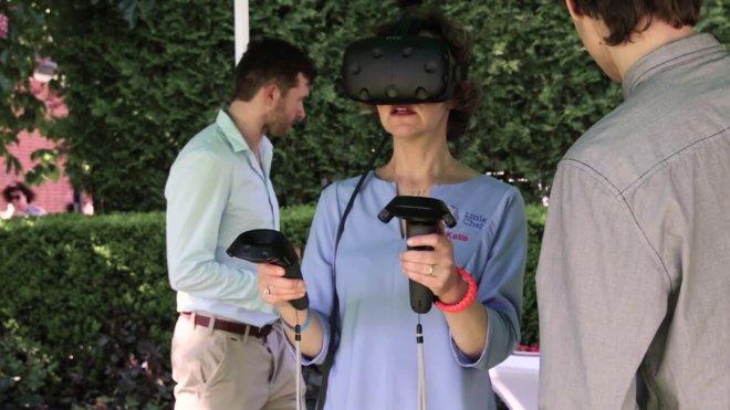 Mojo Apps event googles VR HTC vive
