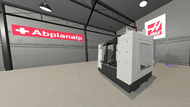 Virtual reality machinery instalation training by MojoApps